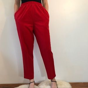 Vtg high waisted trousers